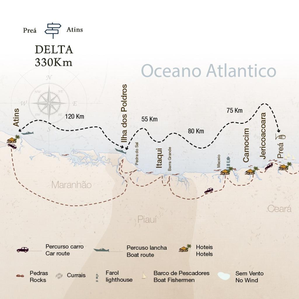 Brazil Down Wind Surfin Sem Fim Essential Experience Map Iron Man